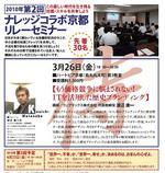 2010.第12回ナレッジコラボ京都リレーセミナー